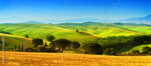 In de dag Toscane Beautiful landscape from Tuscany, Italy