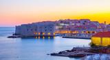 Dubrovnik at sunset - 181994008