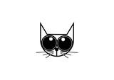 Cute Cat Head