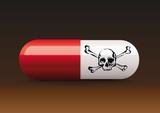 médicament - mort - santé - médecine - poison - mortel - dangereux - trafic - gélule - web - internet - e-commerce,  - 182022890