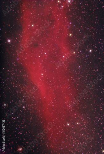 Foto op Canvas Heelal California Nebula