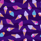 seamless summer pattern with icecream For teenagers
