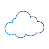 Isolated cloud design - 182057469