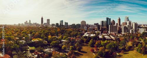 Fototapeta Autumn in Atlanta