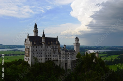 one of the castles in Bavaria Poster