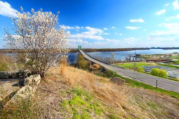 Beckey Bridge Mississippi River Landscape
