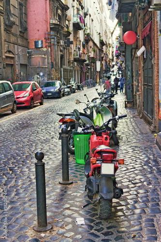 Foto op Canvas Napels Neapel, Altstadt