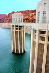 Hoover Dam Arizona Intake Towers