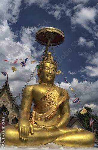 Staande foto Boeddha Buddha statue Chiang Mai Thailand