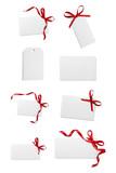 ribbon bow card note chirstmas celebration greeting - 182113055