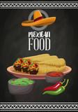 Mexican food brochure - 182116233