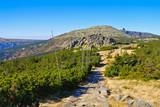 Mannsteine im Riesengebirge - Man Rocks in Giant  Mountains in Bohemia