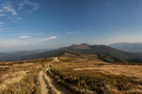 Bieszczady  górskie szlaki