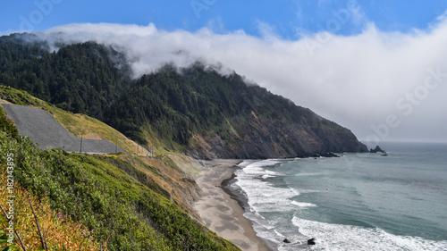 Aluminium Donkergrijs Oregon coast view