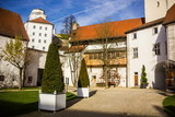Veste Oberhaus is a fortress that was founded in 1219, Passau, Germany
