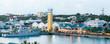Nassau At Dusk Panorama