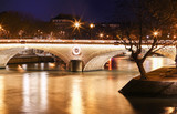 The pont Louis-Philippe in evening, Paris, France.