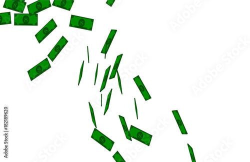 Cash Money Falling Particles Tabloid 13 Poster