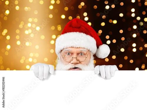 Fototapeta Santa.