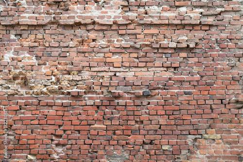 Fotobehang Baksteen muur Klinkermauer