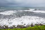 Vue sur l'océan pacifique