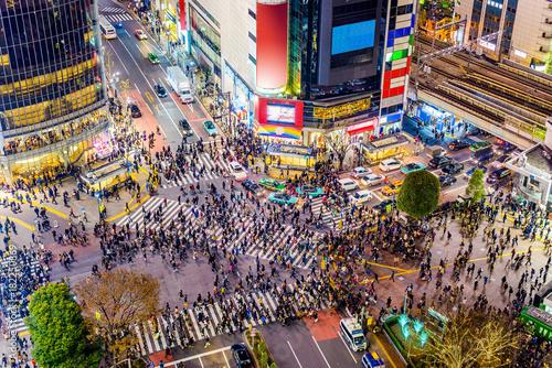 obraz PCV Shibuya, Tokyo, Japan