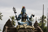 Shiva. The many-armed god Shiva.
