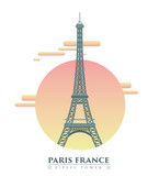 Eiffel Tower-illustration