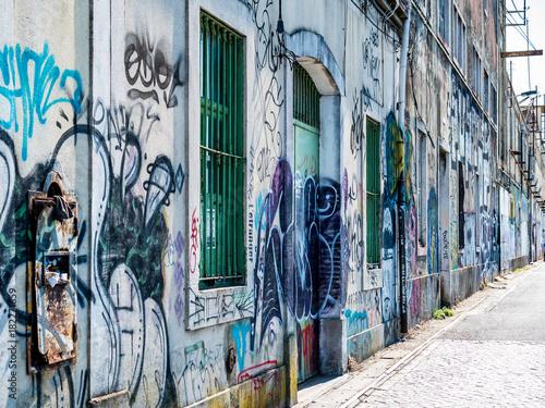 In de dag Graffiti urban II