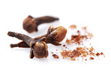 Cloves spices in closeup - 182288837