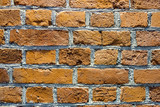 The idea of design embossed wall of an old textured bricks