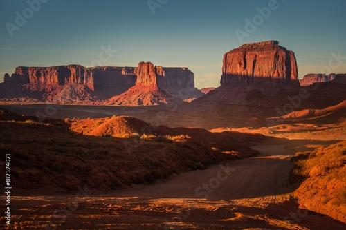 Plexiglas Chocoladebruin Northern Arizona Landscape