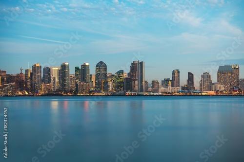 Skyline of San Diego California Poster