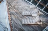 Two Cruise Ship Deckchairs - 182324600