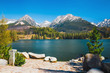 Strbske Pleso, beautiful lake in Tatra Mountains in Slovakia