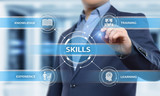 Skill Knowledge Ability Business Internet technology Concept - 182336400