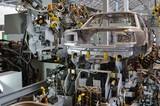自動車工場の機械 - 182352298