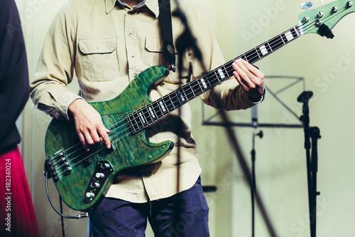 Fotobehang Muziek ベースギター