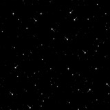 Seamless pattern of the starry sky.