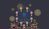 ferris wheel funfair