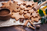 Christmas baking gingerbread honey - 182387015