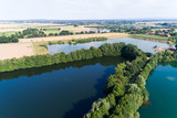 Baggersee von oben - 182391811