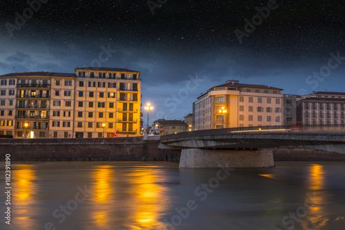 Lungarno in Pisa