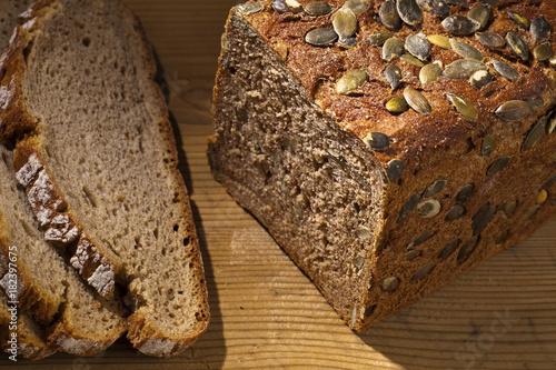 Papiers peints Ile pumpkin seed bread