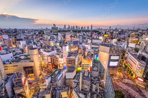 Staande foto Tokio Shibuya, Tokyo, Japan