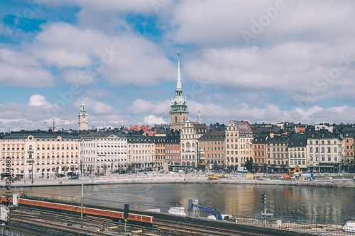 Staande foto London Stockholm