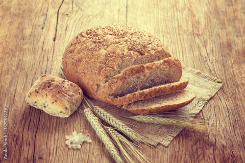 Fresh homemade bread
