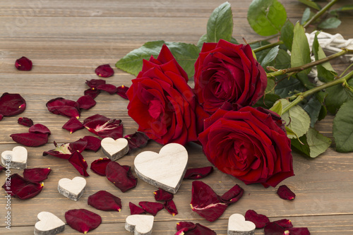 roses for valentine's day and mother's day
