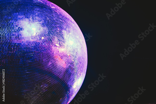 Plexiglas Muziek Disco ball party concept
