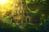 Fantasy tree house - 182409258